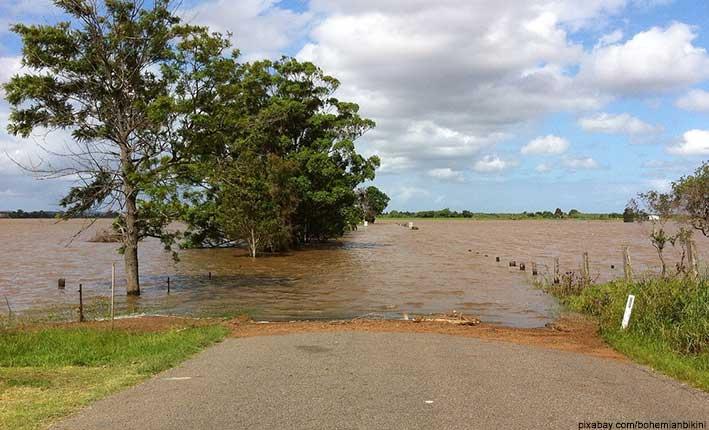 Überschwemmung, Überflutung