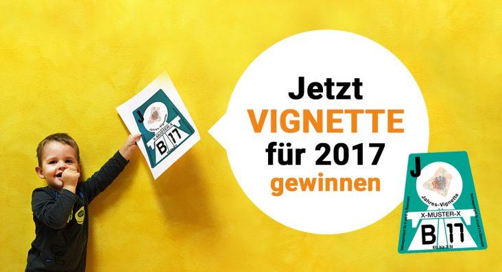 Gewinnspiel Vignette 2017