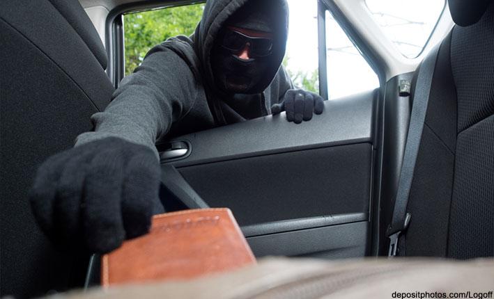 diebstahl aus dem auto versicherung