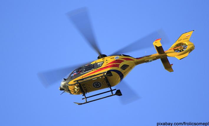 Hubschrauber Rettung Versicherung Helikopter Transport
